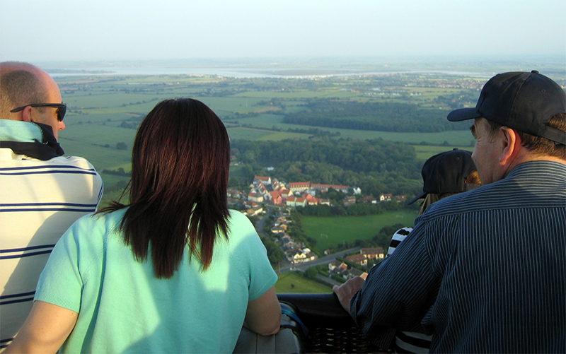 You'll get great views on your hot air balloon rides over the Essex countryside.